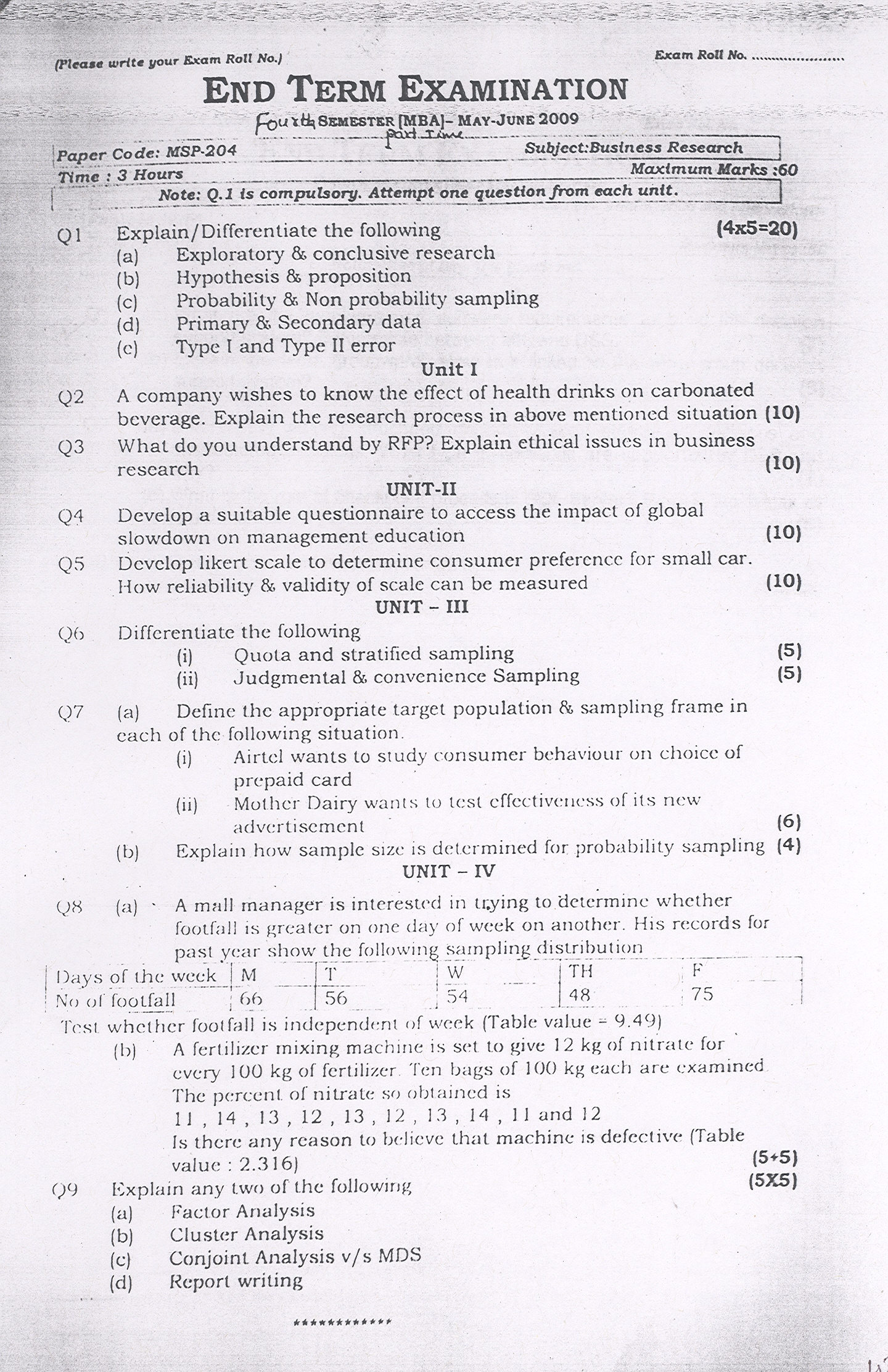ggsipu end term papers Some of the recent question papers as follows sample question paper for the entrance test section i : general aptitude the coalition central government in power in india is a) upsc c) upa b) congress d) nda canine is a term referred to the species of the ______ family a) cow c) cat b) monkey d) dog.
