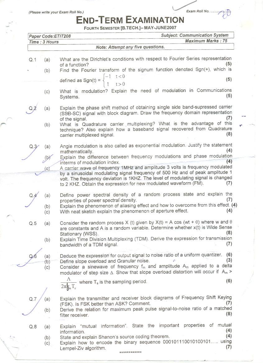 communications term paper