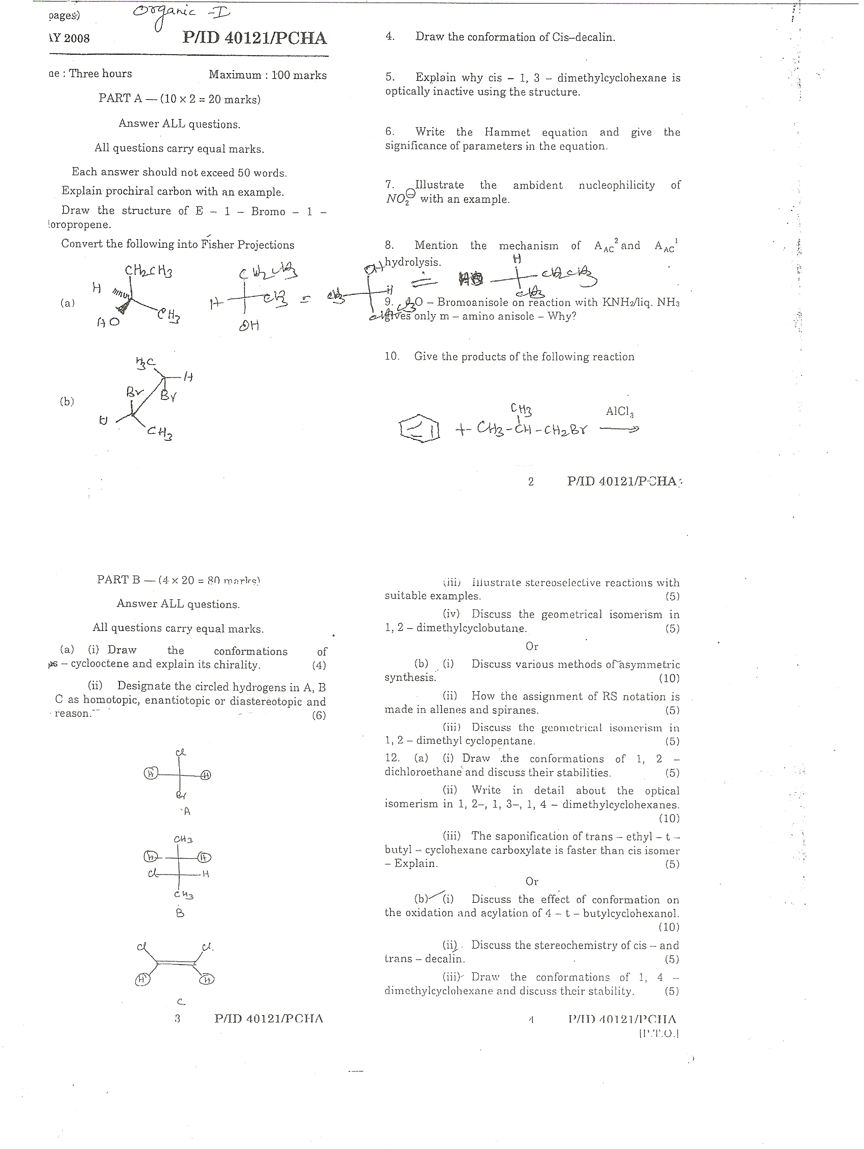 essays on the history of organic chemistry It did not work so well in the newer field of organic chemistry  sur l'influence  chimique de l'žlectricitž (essay on the theory of chemical proportions and on  the.